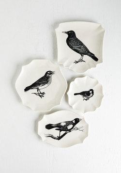 A Bite to Tweet Plate Set