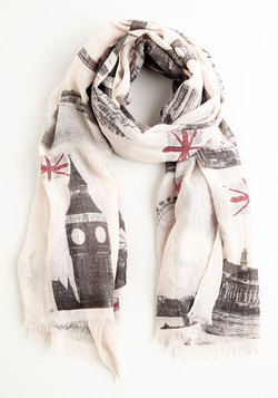 Anglophile Style Scarf
