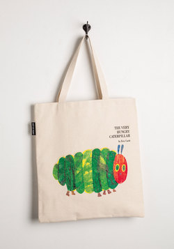 Bookshelf Bandit Tote in Caterpillar