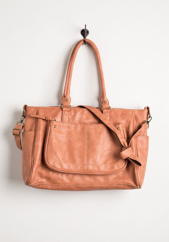 Get the Geolo-gist? Bag - Pink, Solid, Work, Casual, Better, Faux Leather, Minimal, Basic, Graduation, Top Rated, Fall