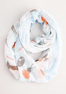 Fave It for a Rainy Day Circle Scarf
