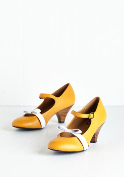 Nothing Short of Sweet Heel in Goldenrod