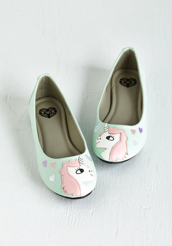 In Love with Unicorn Flat