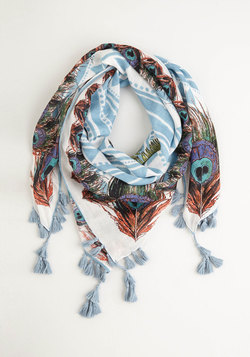 Charismatic Confidence Scarf in Blue