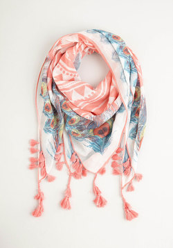 Charismatic Confidence Scarf in Pink