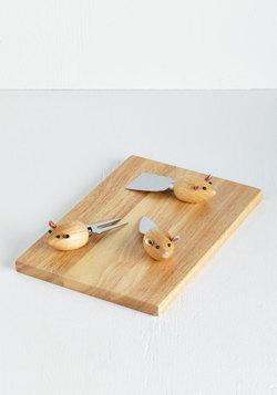 Of Mice and Menu Cheese Board Set