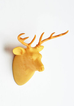 Where You Go, I Glow Lamp in Stag