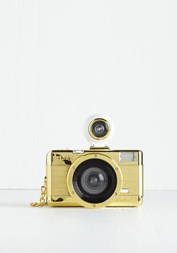 Fisheye No. 2 Camera in Gold