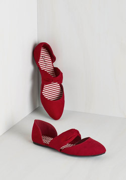 Three Strides and You're Haute Flat in Ruby