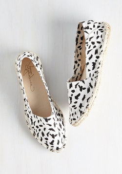 Speckled Delivery Flat