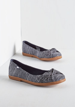 Ready or Knot Flat in Chambray