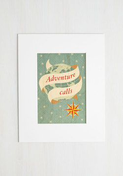 Attention Travelers Print