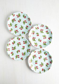 Cherry Surprise Plate Set