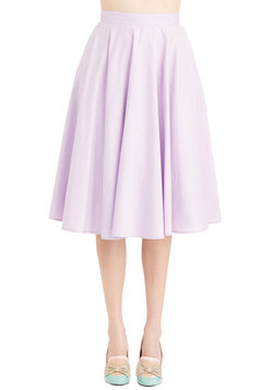 Whimsical Wonder Skirt in Lilac