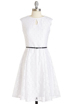 Vintage Wedding Style - Now that I Dot You Dress