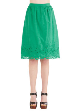 Eyelet of the Storm Skirt