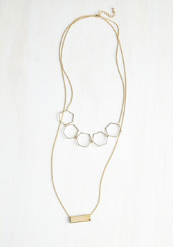Shimmy Shimmy Shape Necklace