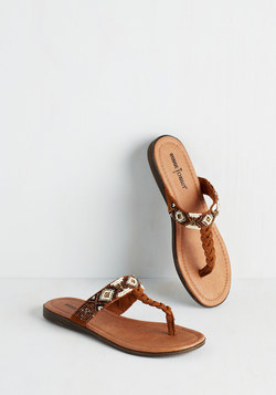 Bead Between the Lines Sandal