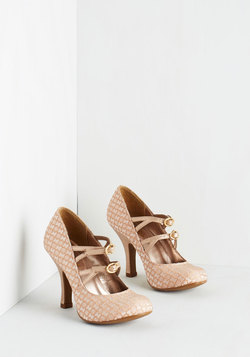 Pump Up the Glam Heel