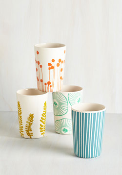 Gathering of Fronds Cup Set