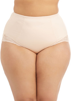 Sassier than Ever Contouring Undies in Plus Size