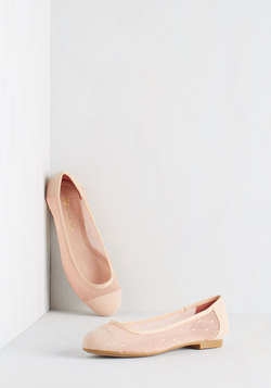 Confection Perfection Flat in Petal