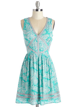 Swirl Traveler Dress