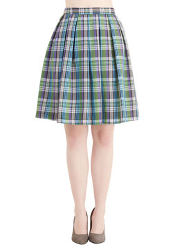 Plaid Swoon Rising Skirt