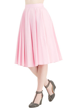 Whimsical Wonder Skirt in Bubblegum