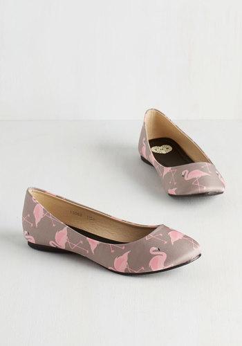 Should I Stay or Should I Flamingo Flat