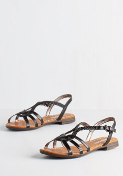 Braid for Walkin' Sandal in Black
