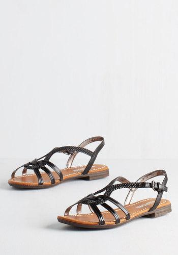 Braid for Walkin' Sandal in Black