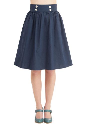 Vivacious Venture Skirt