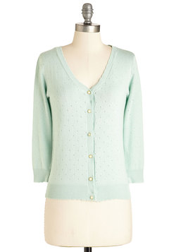 After School Lounging Cardigan in Pistachio