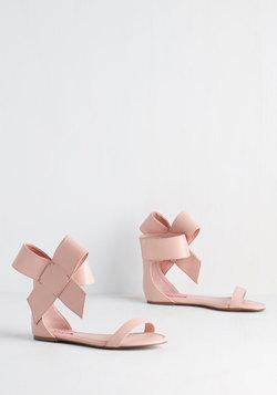 Betsey Johnson Posh Star Sandal in Blush
