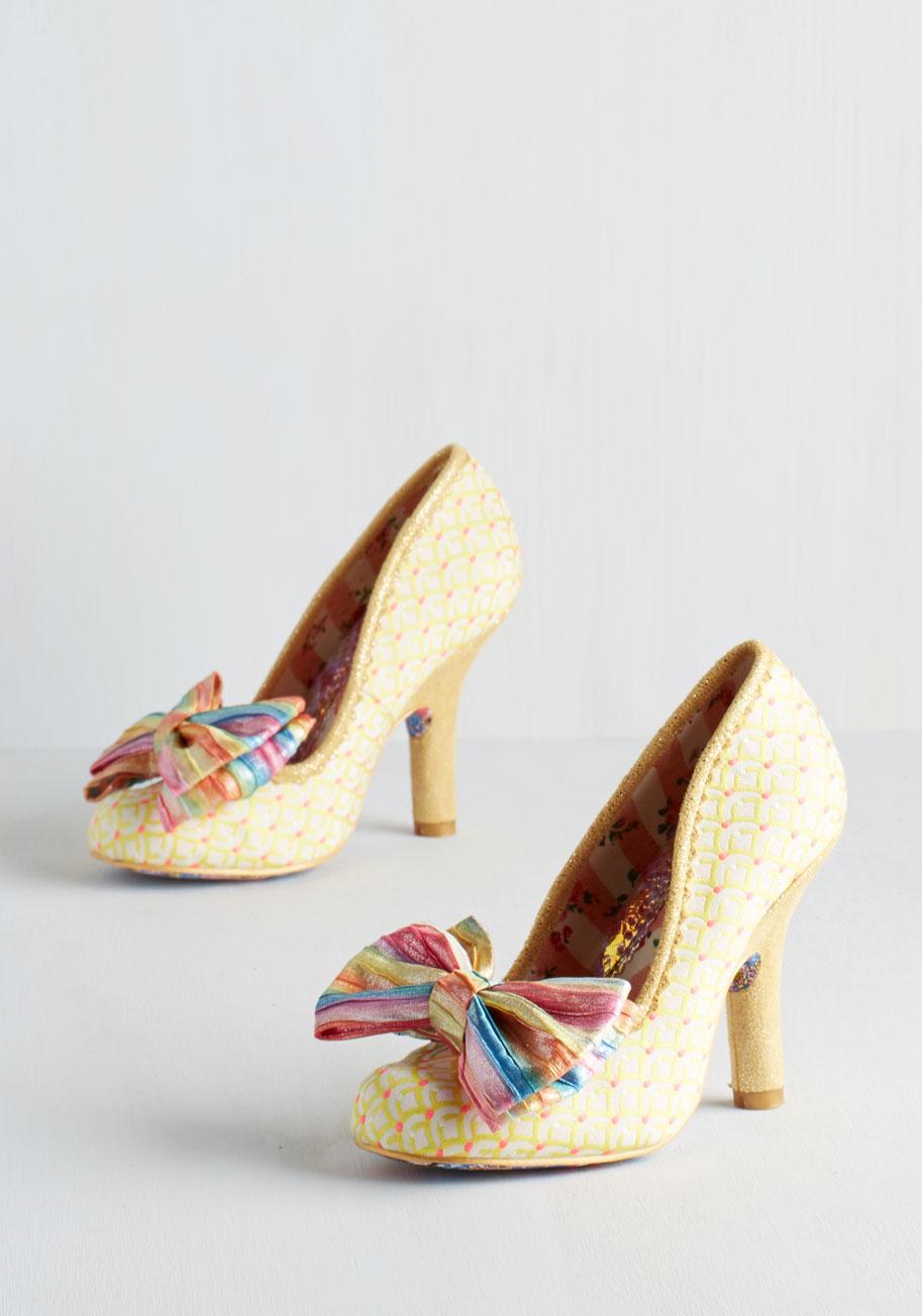 Yellow Vintage Heels