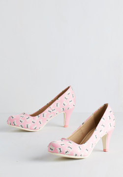 Are You Kitten Me? Heel in Pink