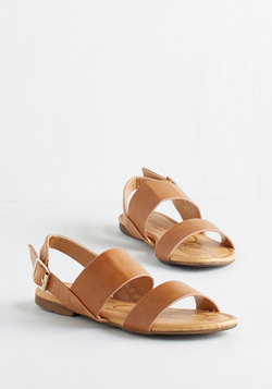 Ooh Baby It's a Wild Wharf Sandal in Caramel