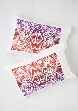 Cheer Comes the Nighttime Pillowcase Set