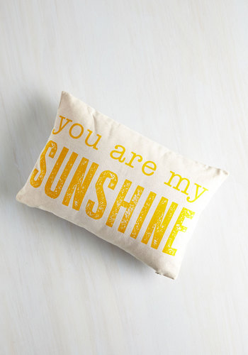 Light Up the Living Room Pillow