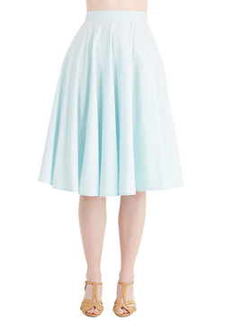 Whimsical Wonder Skirt in Sky