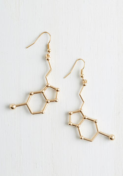 Neurotransmit Your Love Earrings
