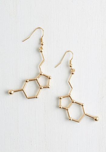Neurotransmit Your Love Earrings