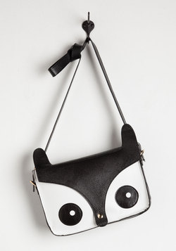 Critter Me Timbers Bag in Black