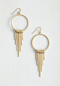 Hoops Line is it Anyway? Earrings