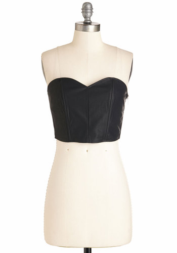 Glam Session Bustier Top