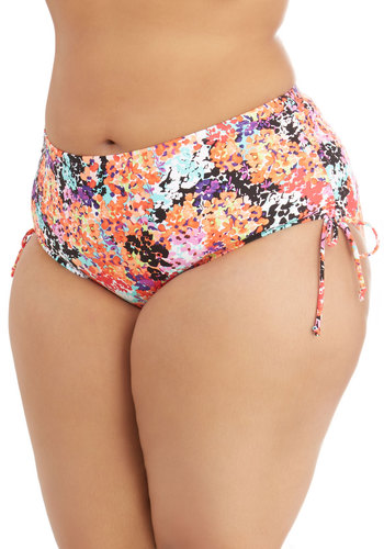 Splendor Some Time Swimsuit Bottom in Plus Size