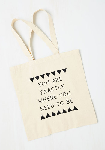 Right On Schedule Tote