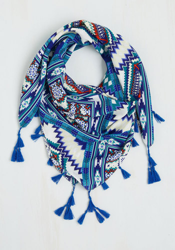 Clever With Color Circle Scarf