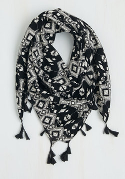 Ins and Outside Circle Scarf